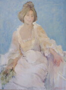 Lady in White 30x40